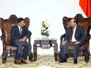 Gov't leader hosts new Myanmar ambassador