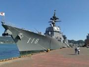 Japanese warship visits Cam Ranh port