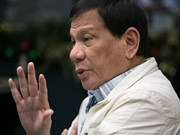 Philippine President begins Gulf tour