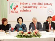 NA Chairwoman backs ties with Czech Republic communist party