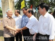 Party chief visits specially disadvantaged commune in Gia Lai
