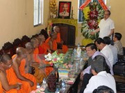 Efforts to improve Khmer people's living conditions