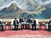 Nhan Dan newspaper delegation visits China