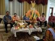 Vietnamese embassy in Indonesia greets Laos on traditional New Year
