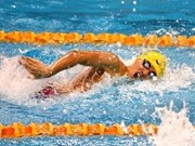 Vietnamese male swimmer wins gold in Stockholm