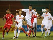 Vietnam edge out Myanmar 2-1 in U-19 tourney
