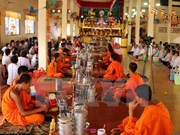 Khmer people in Soc Trang celebrate traditional festival