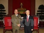 Cuba's defence minister hails visit to Vietnam