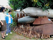 Laos to make great efforts to achieve UXO clearance goals