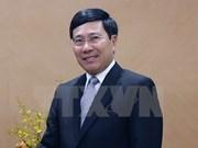 Deputy PM Pham Binh Minh visits China
