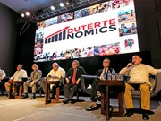 "Philippines announces ""Dutertenomics"" strategy"