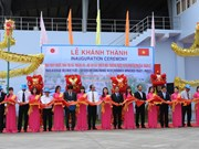Binh Duong's second waste water plant begins operation