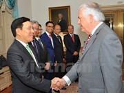 Vietnam, US talk to strengthen bilateral ties