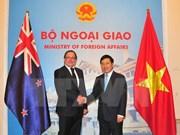 Vietnam, New Zealand look forward to stronger ties
