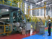 Vina Kraft's second paper plant becomes operational