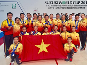 Aerobic team brings home World Cup medals