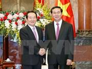 President receives RoK National Assembly Speaker