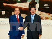 PM Nguyen Xuan Phuc sends thanks to Cambodian counterpart