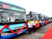 Hanoi to launch 62 new bus routes