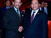 Vietnam, Brunei leaders agree to foster cooperation