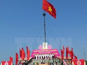 Art performance in Quang Tri marks National Reunification Day
