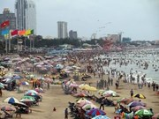 Beaches, eco-tourism spots packed with holiday revellers