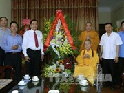 VFF leader extends greetings on Buddha's birthday