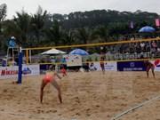 Asian women's beach volleyball tourney kicks off in Tuan Chau