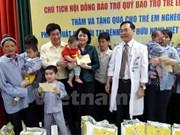 National fund raises 241.8 million USD for disadvantaged children