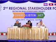 MRC member states discuss Laos' Pak Beng hydropower plant