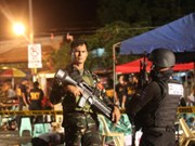 Explosion hits Philippine capital, killing two