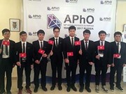 Vietnamese students shine at Asian Physics Olympiad 2017