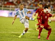 Football: Vietnam U20 lose to Argentina in friendly