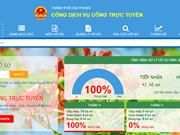 Hai Phong launches public service portal