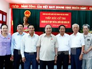 Prime Minister meets with Hai Phong voters