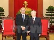 Party chief asserts treasuring friendship with Myanmar