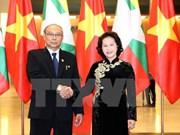 Vietnamese, Myanmar top legislators hold talks to seek stronger ties