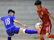 Vietnam U20 futsal team beats China in Thailand