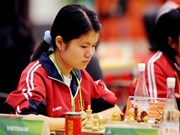 Vietnam's female chess player leads in Asian champs