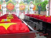 Thua Thien-Hue: remains of fallen soldiers in Laos reburied