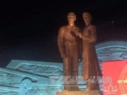 Monument of Ho Chi Minh and his father inaugurated in Binh Dinh