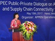 APEC aims to enhance supply chain connectivity