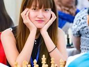 Vietnam female player tops Asia chess championships