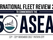 Thailand's Pattaya prepares for ASEAN International Fleet Review 2017
