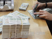 Reference exchange rate goes up 9 VND