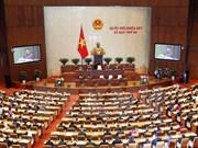 Lawmakers discuss bills on public debt, foreign trade management