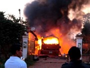 Embassy assists Vietnamese victims in coach explosion in Laos