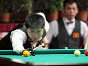 Belgian player wins World Cup 3-Cushion 2017 in HCM City