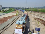 Laos, China speed up construction of cross-border railway