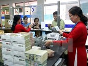 Reference exchange rate goes up 7 VND
